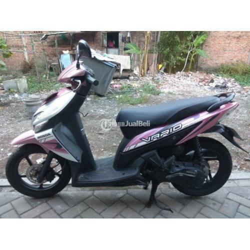 Motor Honda Vario 110cc 2009 Bekas Mesin Kering Body Orisinil Harga Nego - Surabaya