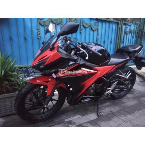 Motor Honda CBR 150 2018 Surat Lengkap Bekas Mesin Normal Mulus - Surabaya