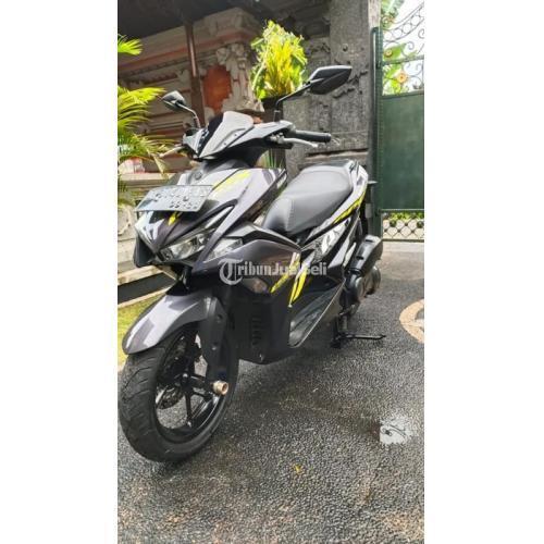 Motor Yamaha Aerox 2018 Surat Lengkap Bekas Normal Body Mulus - Tabanan