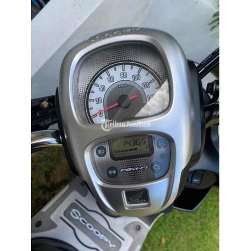 Motor Honda Scoopy 2020 Putih Bekas Tangan1 Jarang Pakai - Pasuruan