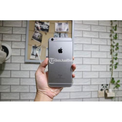 HP Apple iPhone 6S Plus 64GB Gray Bekas Mulus Normal Fulset Harga Nego - Bekasi