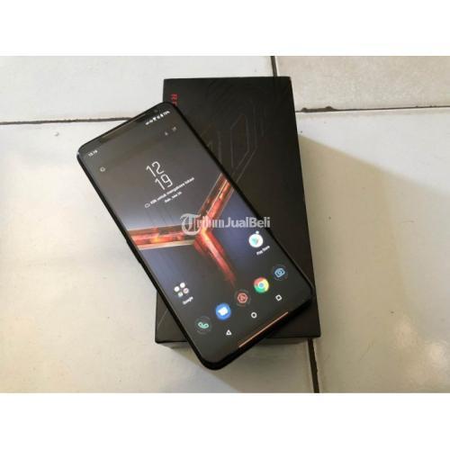 HP Asus Rog Phone 2 Ram 8/128GB Bekas Lengkap Nominus Bergaransi - Balikpapan