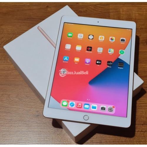 Tablet Apple iPad Gen 8 32GB Bekas iBox Fullset Mulus Like New - Pontianak