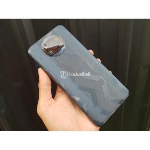 HP Poco X3 NFC 8/128GB Phantom Black Bekas Normal Siap Pakai Fullset - Pontianak