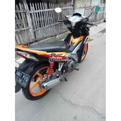 Motor Honda Blade Repsol 2013 Pajak Panjang Mesin Halus Bekas Nego - Jakarta Barat