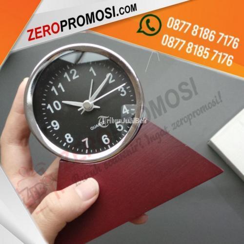 Souvenir Jam Klasik Kayu Promosi Jam Antik Bulat JHM004 - Tangerang