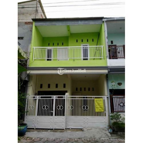 Dijual Rumah 2 Lantai Bekas Legalitas SHM 3 Kamar Lokasi Strategis Bisa KPR - Surabaya