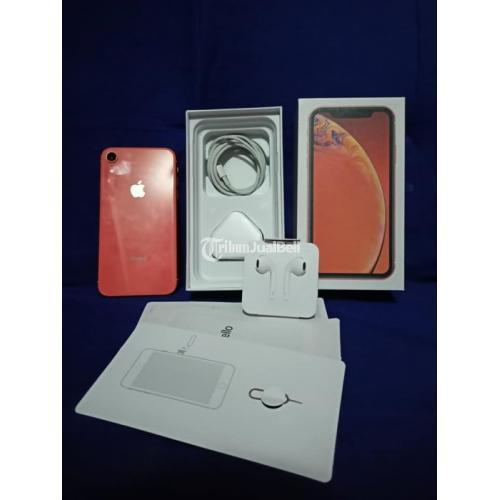 HP iPhone XR 128GB Bekas Fullset Baterai Awet Garansi Inter Nego - Surabaya