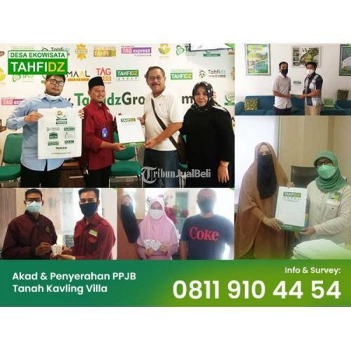 Dijual Tanah Kavling Desa Ekowisata Tahfidz Sentul, SHM, 59 jt/100 m2 - Bogor