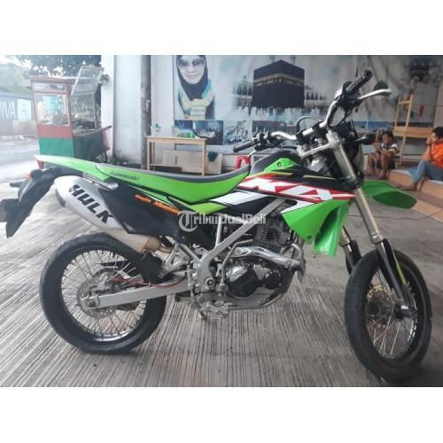 Motor Kawasaki KLX 2017 Body Mulus Mesin Normal Bekas Siap Pakai - Tangerang