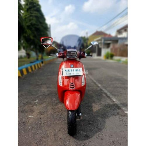Motor Vespa Sprint i-get ABS 2019 Full Accesories Bekas Mulus Terawat - Malang