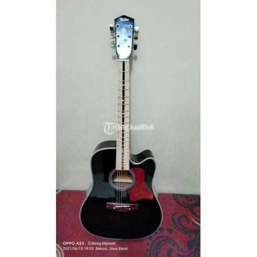 Gitar Akustik Banyak Varian Baru Fullset Freed Baja Senar Cefer - Bekasi