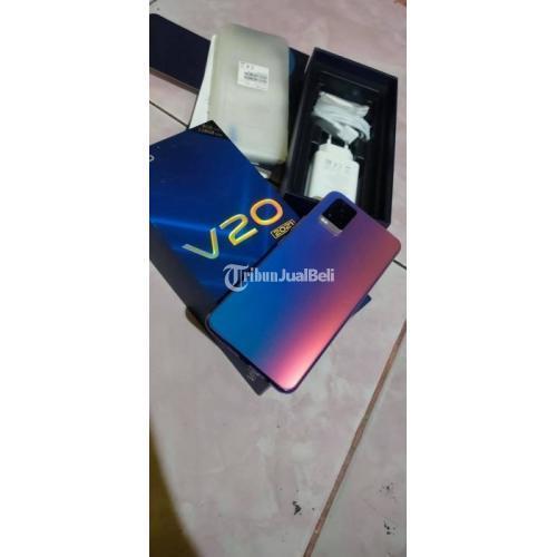 HP Vivo V20 2021 Second Fullset Mulus No Minus Garansi Resmi - Makassar