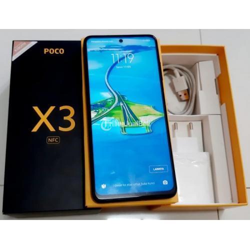 HP Poco X3 NFC 6/64GB Bekas Fullset Mulus Harga Nego - Sidoarjo