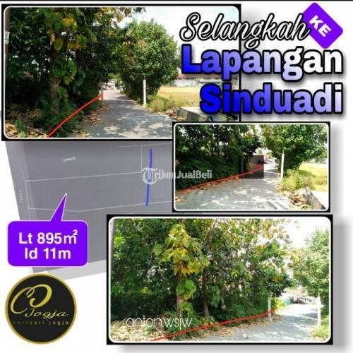 Dijual Tanah Selangkah ke Lapangan Sinduadi-Belakang Bebek H.Slamet Jombor Lt 895㎡ - Jogja