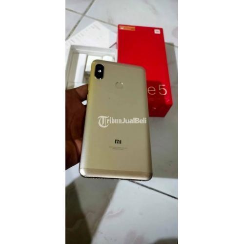HP Xiaomi Note 5 Pro Gold Ram 4GB/64GB Bekas Fullset Fungsi Normal - Makassar