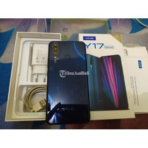 HP Vivo Y17 Ram 4GB/128GB Baterai 5000mAh Bekas Fullset Normal - Padang