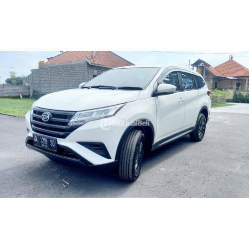 Mobil Daihatsu Terios X Deluxe 2019 Manual Putih Bekas KM Rendah - Badung