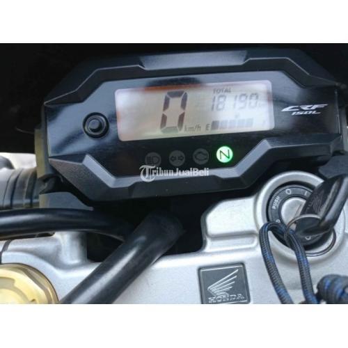 Motor Honda CRF 150L 2018 Bekas Full Orisinil Surat Lengkap Nego - Sidoarjo