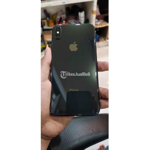 HP iPhone XS Max 256GB Black Fullset Original Bekas Mulus No Minus - Surabaya