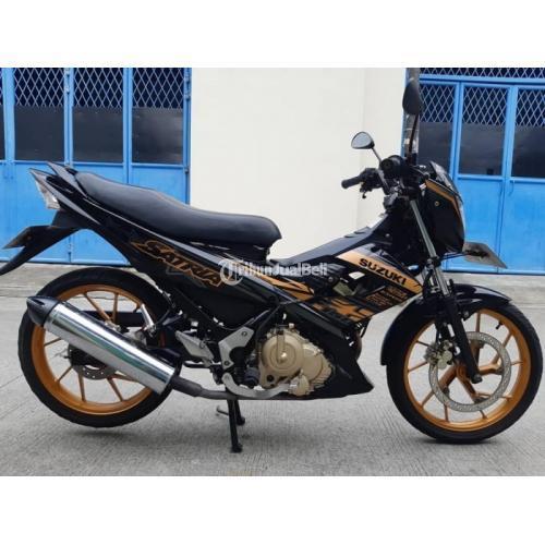 Motor Suzuki Satria 150 Special Edition 2014 Bekas Surat Lengkap - Jakarta Barat