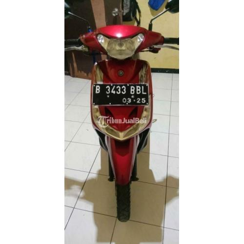 Motor Yamaha Mio Smile 2010 Merah Full Orisinil Mesin Halus Bekas Normal - Jakarta Selatan