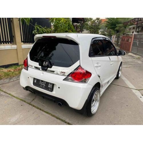 Mobil Honda Brio RS 2016 Matic Warna Putih Bekas Mesin Halus Normal - Surabaya