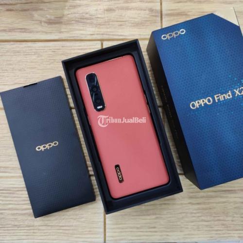 HP Oppo Find X2 Pro 12/512GB Orange Fullset Original Bekas Normal - Jogja