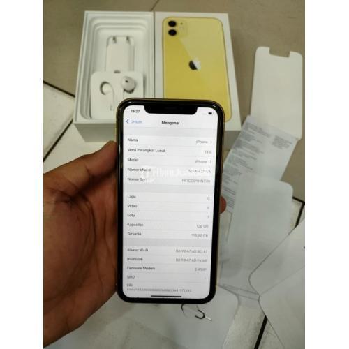 HP Apple iPhone 11 Garansi iBox Panjang Bekas Fullset Ori Mulus - Jakarta