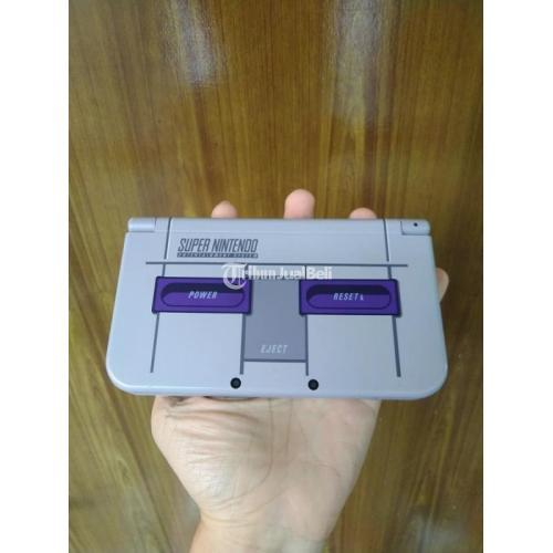 Konsol Game Nintendo New 3DS XL SNES Limited Edition OFW Fullset Rare Bekas - Surabaya