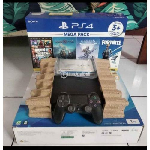 Konsol Game Sony PS 4 Slim 1TB CUH22 Bekas Like New Segel Void - Jogja