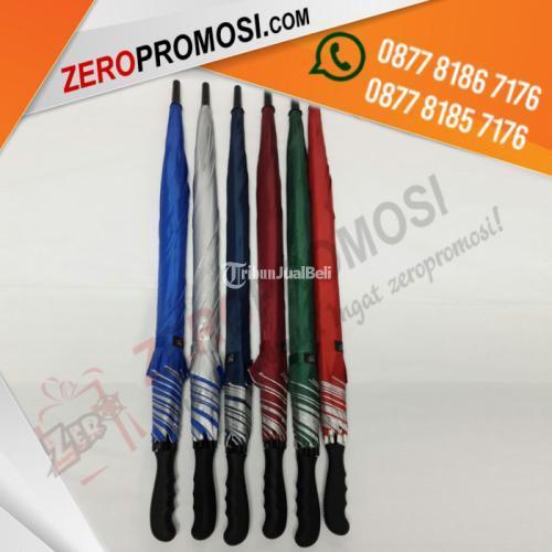 Payung Golf Otomatis Payung Golf Promosi Sablon 1 Warna 4 Sisi - Tangerang