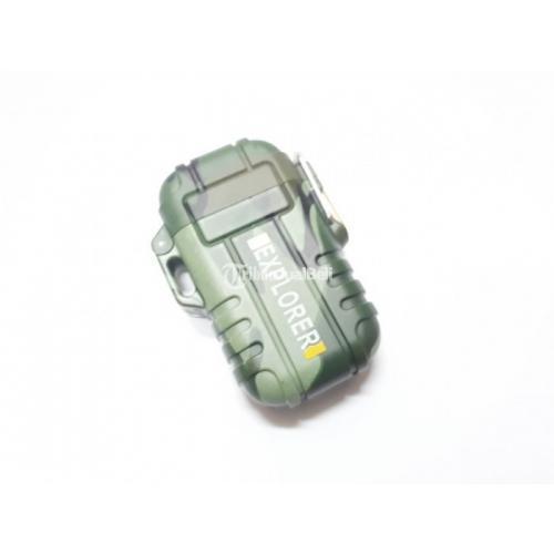 Korek Api Plasma Arc 006 Metal Plasma Lighter Waterproof - Jakarta