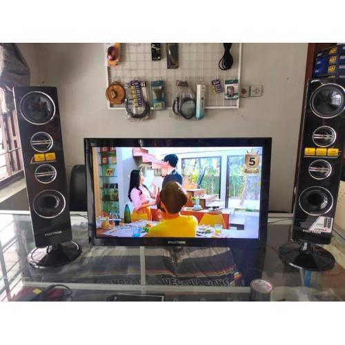 POLYTR24D8 TV PLD 24T8511 24inch Second Fullset Normal - Jogja