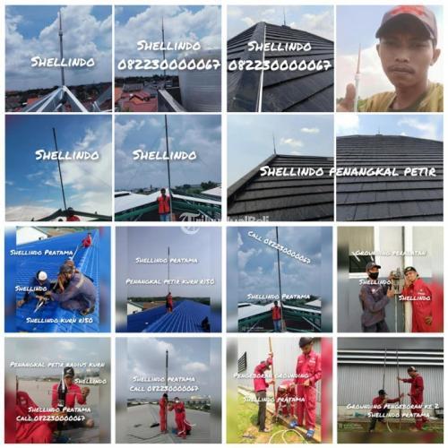 Pasang Penangkal Petir Pondok Aren Tangerang Selatan Terpercaya - Tangerang