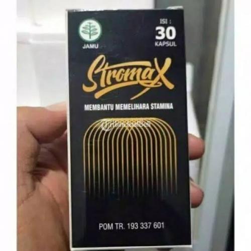 STROMAX kapsul obat pembesar panjang penis kuat di Manado - Palu