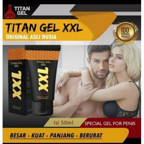 Titan gel XXL Pembesar Penis Kuat Bisa Meningkatkan Volume 60% - Medan