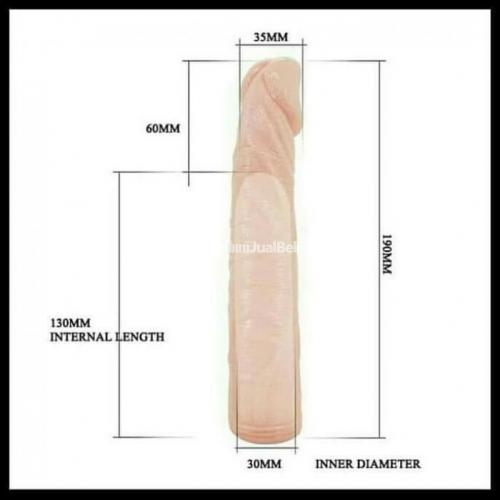 Vibrator dildo penis maju mundur bercabang getar - Banjarmasin