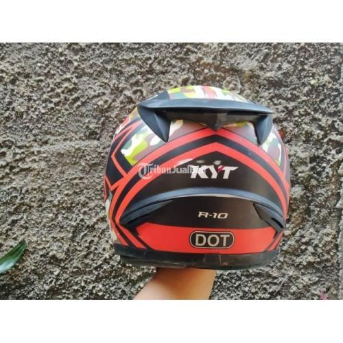 Helm KYT R10 Size L Bekas Bagus Sudah Cuci Siap Pakai - Tangerang