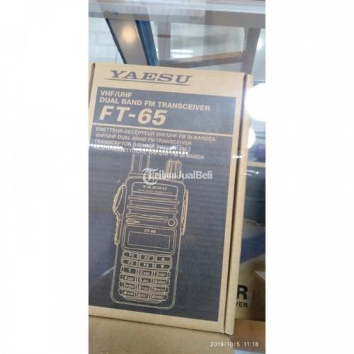 Habdy Talky Yaesu FT-65R 144/430 MHz Dual-Band HTs FT-65R - Jakarta