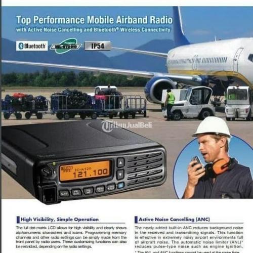 Radio Rig Icom IC A120 Air Band Baru Original Garansi 1 Tahun Service - Jakarta