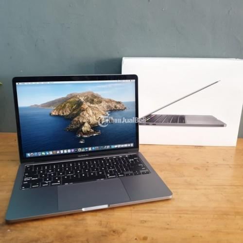 LaptoMacbook Pro 2020 13 inch Touchbar MXK32ID i5/8GB/256GB CC 7 Fullset Garansi
