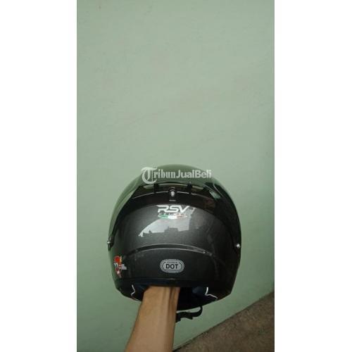 Helm RSV FF Zero Sz XL fit L Visor Dark Flat Clear Bekas Lengkap Mulus - Depok