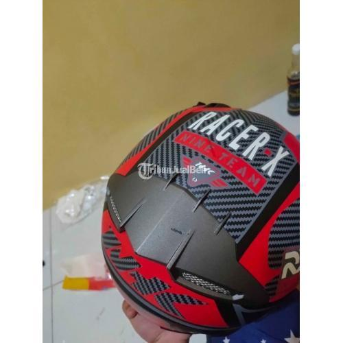 Helm NHK RX9 Red Black Bekas Bagus Jarang Pakai Harga Nego - Bekasi