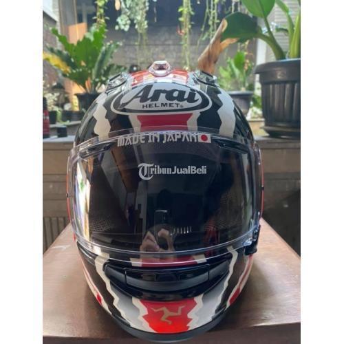 Helm Arai Rx7x Doohan TT Size XL Bekas Mulus Lengkap Free Spoiler - Bandung