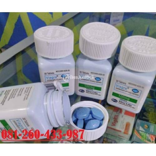 Obat Kuat Vigra Pfrizer 100 mg USA Original - Medan