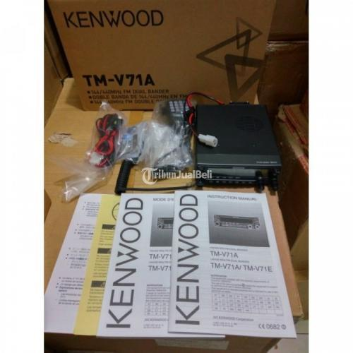 Radio RIG TM-V71 A Dual Band Feature Kenwood 5in1 Programmable Memory - Jakarta