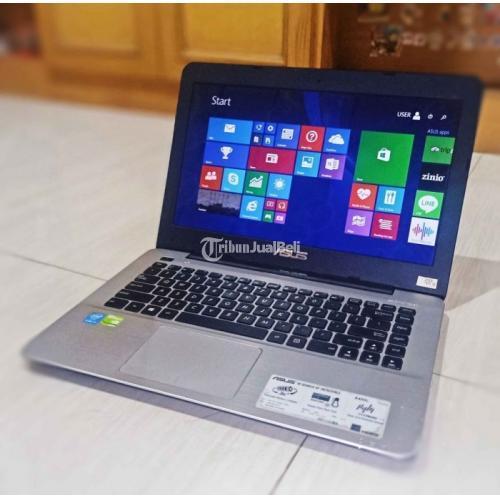 Laptop ASUS X455LJ Bekas Like New Mulus Lengkap Harga Nego - Sidoarjo
