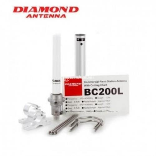 Antena Diamond BC200L Base Station 370 to 430MHz with Cutting Chart - Jakarta