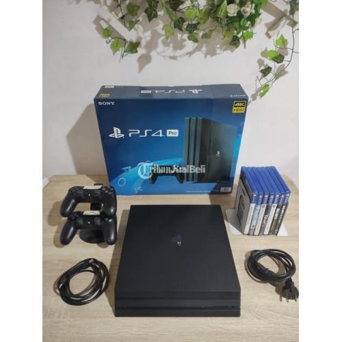 Konsol Game Sony PS4 PRO 1TB Seri 7106B Bekas Ori Mulus Normal - Bogor